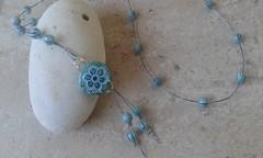 (katerina66) Tags: necklace polymerclay glassbeads handmade jewellery oneofakind κολιέ πολυμερικόσάργιλοσ χειροποίητο κοσμήματα