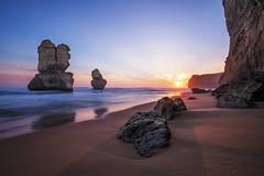 ([Benjamin Watson]) Tags: gibsonssteps twelveapostles greatoceanroad portcampbell victoria australia sunset seascape rockstacks rocks sea