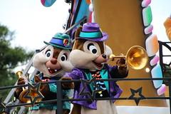 Halloween Pop'n LIVE (sidonald) Tags: tokyo disney tokyodisneyland tdl tokyodisneyresort tdr halloweenpopnlive parade disneyshalloween2016     chip dale chipndale