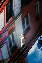 Crucufix (allejandrine) Tags: crucifix jesus reflection miracle christ hole cross
