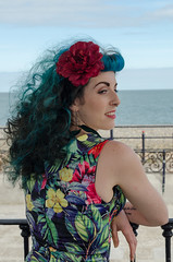 Kitty - DSC_0037 (John Hickey - fotosbyjohnh) Tags: 2016 bray modelshoot september2016 female femalemodel woman lady person people seaside braypromenade nikon nikond5100