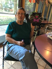 Catfe 9/23/16 #1 (Hospice Hearts) Tags: hospicehearts urbana champaign illinois il wwwhospiceheartsorg catfe catcafe cat cats foster feline felines foreverhome animalrescue rescue artscrafts crafts cupcakes seniors seniorliving adultdaycare boss cattea