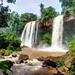 Iguazu falls – ground level / Iguazu Wasserfälle - Boden