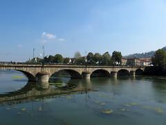 Torino (Fass81) Tags: torino turin bridge river ponte fiume po italia italy europe water