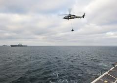 160915-N-LR795-348 (U.S. Pacific Fleet) Tags: usnavy usssomerset exercise marines sailors certex unrep vertrep replenishmentatsea usnsyukon ussmakinisland usscomstock mh60seahawk pacificocean california unitedstates