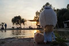 Lorelai & Mopsi @ Balaton lake