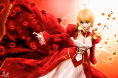 The Red Emperor () Tags: the red emperor saber nero fate extra animate japanese toy action figure