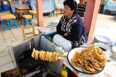 IMG_0013 (rovinglight) Tags: lake titicaca coffee breakfast religious bolivia copacabana sopapilla sopaipilla lapazdept friedcopacabanalapazdeptbolivia