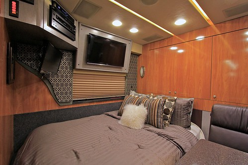 Liberty - Rear Lounge with bed installed