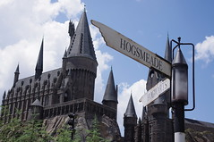 Hogsmeade or Hogwarts (Sparks68) Tags: school castle islands orlando florida towers harry potter adventure universal hogwarts turrets hogsmeade