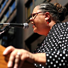 Karen Lewis ~ Chicago Teachers Union President (Viewminder) Tags: chicago love joy protest balls happiness strike karma kindness upclose understanding labordayweekend daleyplaza chicagopublicschools organizedlabor karenlewis hescores soulpatrol collectivebargaining viewminder labordayrally chicagoteachersunionpresident alwaysgettininclose becausehistorybelongstous podiummojomagic viewmindergetsonstageagain ialwaysgiveyouafrontrowseat shitbackstagepasses allyouneedisadecentcameraand viewmindershoots chicagoteachersstrike