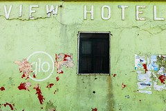 View Hotel (Bill Davies (SA)) Tags: old travel green hotel view ghana accra delapidated viewhotel