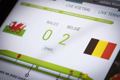 - 251/366 - (Pieter D) Tags: world 2 cup brasil wales football belgium soccer victory 365 day251 366 project365 pieterd project366 08092012 365the2012edition