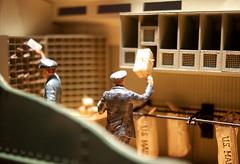 Mail Car (JTContinental) Tags: light shadow urban macro washingtondc smithsonian miniature figurines americana americanhistorymuseum museumofamericanhistory jtcontinental thepinnaclehof tphofweek179