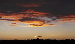 Sunset 11th September 2012 (mark_fr) Tags: york sunset sky sun set sunrise volcano maple view market yorkshire hill estuary vale east dust rise volcanic mere beverley humber hornsea weighton beeford lissett molescroft