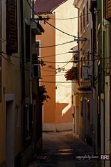 narrow_street_01 (alamond) Tags: street light sea canon coast town is seaside slovenia 7d l usm narrow ef isola izola 70300 llens f456