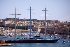 the maltese falcon (Mr Sait) Tags: yacht awesome malta maltesefalcon jamesbond