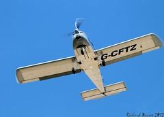 Evektor EV-97 EuroStar G-CFTZ Lee on Solent Airfield (SupaSmokey) Tags: eurostar lee solent airfield ev97 evektor gcftz