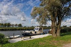 DSC_2264_700-a (Julysha) Tags: d700 autumn boats canal clouds countryside hetwaardje holland landscape nature nikon river ship september sky tree thenetherlands waarland dutch noordholland acr nikkor247028 nederland