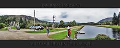 Inverness Landscape (Muzammil (Moz)) Tags: uk bridge scotland canal nikon vista inverness moz lockness caladoniancanal muzammilhussain
