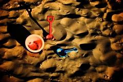 Play in the Sand (John Zigfreido Canada Photography) Tags: summer vacation holiday beach sand funinthesun warmplace coastalfun
