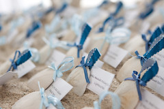 "Sandollar Place Cards for Beach Wedding • <a style=""font-size:0.8em;"" href=""https://www.flickr.com/photos/77192005@N08/7999704309/"" target=""_blank"">View on Flickr</a>"