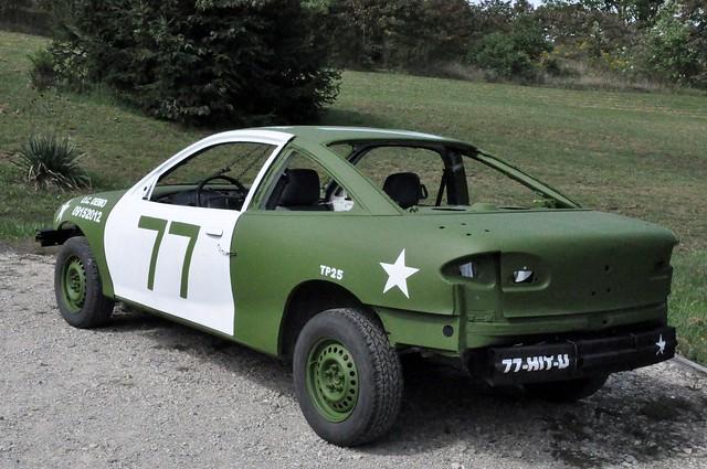 car daniel demolition chevy 1997 cavalier roger 77 derby demolitionderby rogerdaniel