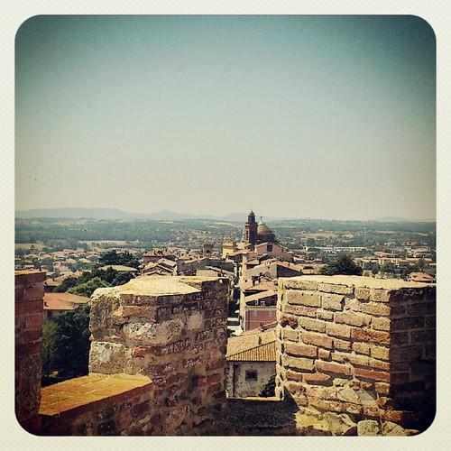 Dalla torre più alta del castello