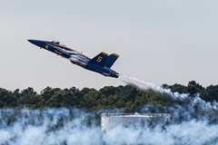 Powering Up (alextbaum) Tags: jet angels blueangels fa18 fa18hornet