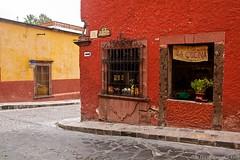 San Miguel de Allende, Mexico (Discovering Ice) Tags: mexico sanmigueldeallende colonialtown olddoors colourfulbuildings colorfulbuildings