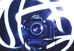 nokiN (Andrew Speight // andrewspeight.co) Tags: lighting two reflection art lines project lens 50mm lights mirror three crazy nikon day seven hundred backwards flashlight streams f18 streaks six sixty flashlights nokin 366 267 asphoto 366project d7000 speightphoto