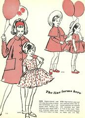 balloon fashions 3 (Millie Motts) Tags: fashion sewing fabric 1963 mccalls