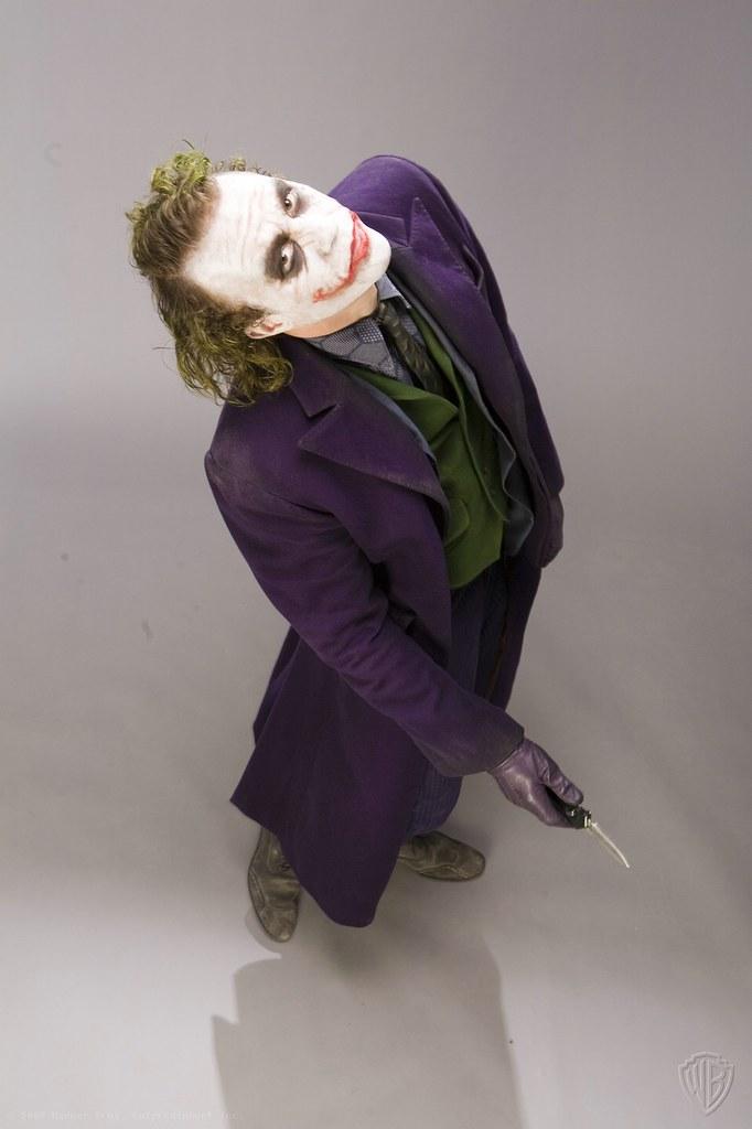 大量珍貴「黑暗騎士」小丑宣傳照曝光