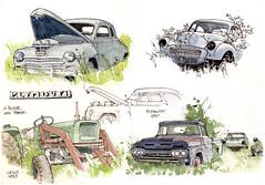 Housse, ancêtres (gerard michel) Tags: auto ford plymouth camion porsche morris tracteur ursus ancêtres