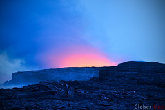 Lava, meet the sea - Hawaii (cleber) Tags: hawaii lava