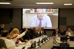 Foro El Asilo Diplomtico: fortaleciendo el Sistema Internacional de Derechos Humanos (Cancillera Ecuador) Tags: unitednations asylum onu ricardopatio julianassange assange asilopoltico asiloecuador