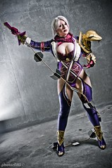Ivy Valentine - Soul Calibur V (BelleChere) Tags: sexy costume cosplay videogame dragoncon soulcalibur isabellavalentine ivyvalentine