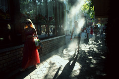 TGIF! (Che-burashka) Tags: boy summer girl citylife odessa ukraine omd em5 urbanlyric panasonic14mmf25