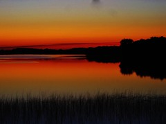 red sky at night, sailors delight (wannabephotographical) Tags: sunset lake minnesota devilslake