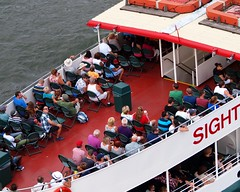 Circle Line Sightseeing Cruise Boat, Harlem River, New York City (jag9889) Tags: city nyc cruise ny newyork boat ship manhattan sightseeing vessel circleline harlemriver