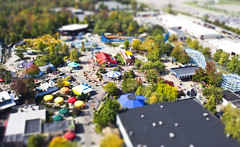Mini Kiddie Land (godpasta) Tags: ohio rollercoaster kingsisland faketiltshift woodenrollercoaster fakeminiature steelrollercoaster