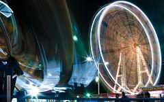 October 2012: Fun, Motion, Excitement (recaptured) Tags: wheel night ride fair ferris explore ferriswheel pune mela sigma30mmf14 magicdonkey explored
