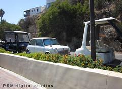 Catalina Island Trip / Mini Cooper and Golf Carts (pmadsidney) Tags: ocean marina butterfly losangeles newportbeach longbeach catalinaisland southerncalifornia orangecounty avalon lacounty worldcars catalinaislandtrip