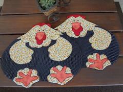 Americano Galinhas (Paty Patch) Tags: patchwork galinhas jogoamericano