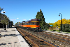 The Pontchartrain Club (Metra 614) Tags: car club observation ic sub trains il cm cp railroads lakeforest pontchartrain