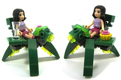 chairbot (cmaddison) Tags: chair lego mecha bot mech chairbot