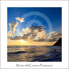 Riviera del Conero, Portonovo (18037) (Danilo Antonini (Pescarese)) Tags: park blue sea summer sky italy panorama cliff parco sun sunlight mountain seascape beach nature water silhouette rock clouds sunrise landscape italia nuvole mare waves estate natural alba blu tripod natura hobby cielo monte fotografia vela sole acqua conero spiaggia regional marche paesaggio adriatic controluce manfrotto raggi onde adriatico ancona scogliera passione sparetime cavalletto solari portonovo regionale naturale sagoma scoglio tempolibero treppiedi controsole canonef24105f4lisusm pescarese canoneos5dmark2