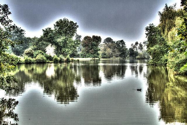 Lake at the Vyne