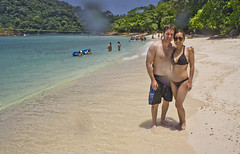DSC09251 (andrewlorenzlong) Tags: beach water thailand boat sand sam andrew bikini kohchang kohrang kohrangyai korangyai