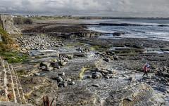 Spanish Point (psyberartist) Tags: ocean ireland sea beach coast stones rocky atlantic shore spanishpoint miltownmalbay